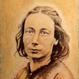 Louise Michel, portrait de Vivien Lacueille