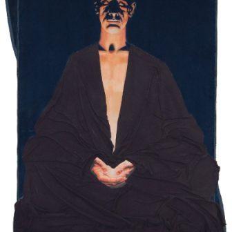 Bouddha du Feu, peinture de Vivien Lacueille
