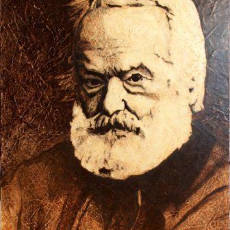 Victor Hugo, portrait de Vivien Lacueille