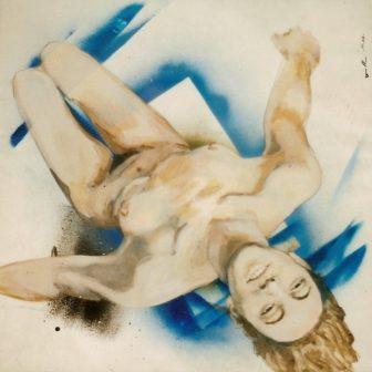 Air, peinture de Vivien Lacueille