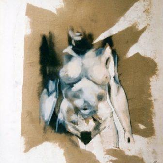 Apparition, peinture de Vivien Lacueille
