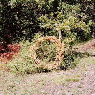 Cercle d'Or, Land Art de Vivien Lacueille