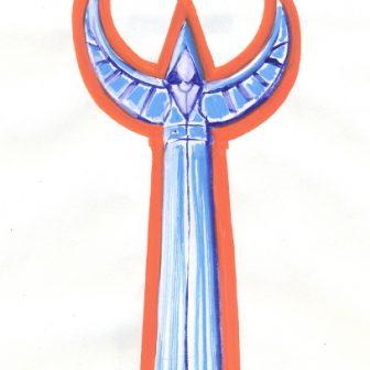 L'Ange Guardian, dessin de Vivien Lacueille