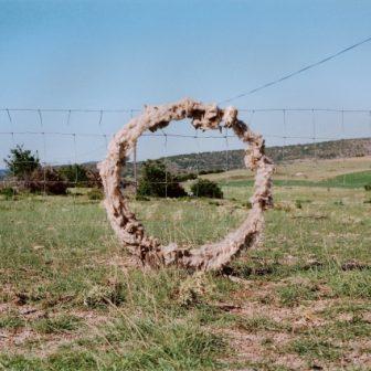 Cercle de Laine, Land Art de Vivien Lacueille
