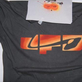 UFO, logo de Vivien Lacueille