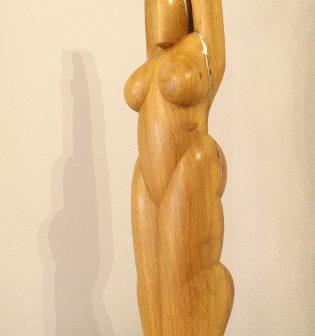 Vénus à l'enfant étoile, sculpture de Vivien Lacueille