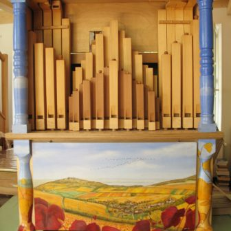 Orgue de Barbarie, décoration de Vivien Lacueille